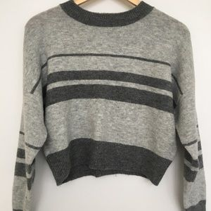 Topshop thin knit striped sweater